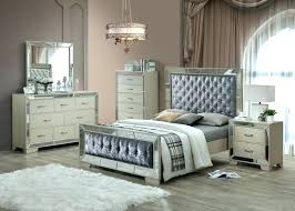 Mirror Headboard Queen Bed With Mirror 6 Piece Bedroom Set With ...