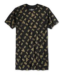 American Rag Mens Cash Rules Graphic T Shirt