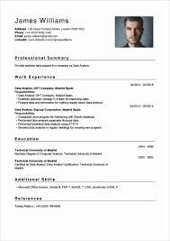 Data Analyst Resume Sample Good Resume Examples For Jobs