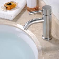 Waschbecken Bad Badezimmer Waschtisch Edelstahl Massiv Wasserhahn