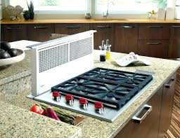 cooktop with vent. Kitchenaid Gas Cooktop With Downdraft Range Slide In Vent