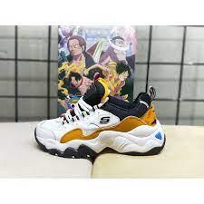 Meilleur manga personnages one piece drôle ace one piece images de one piece trucs au hasard à dessiner divertissement art anime. Skechers One Piece Men And Women Couple Portgas D Ace Fashion Panda Shoes Shopee Philippines