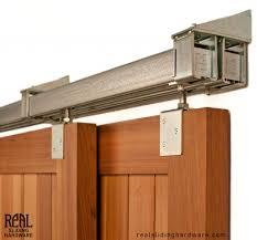 heavy duty industrial byp box rail barn door hardware 500lb real sliding hardware