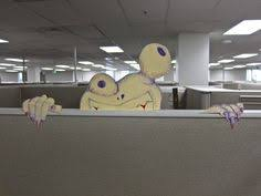 office halloween ideas. Brilliant Halloween Cubicle Creature Maybe The Best Thing I Ever Made With Misappropriated  State Property Halloween CubicleHalloween OfficeHalloween IdeasHalloween  To Office Ideas W