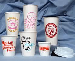 Creative Printed Coffee Cups