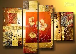 classical warn art flowers group oil painting home decoration high