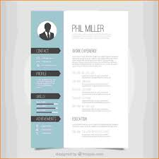6 One Page Resume Template Free Download Skills Based Resume