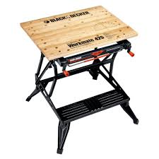 folding portable workbench and vise wm425 the home depot