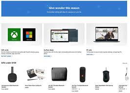Microsoft Store Holiday Catalog 2018