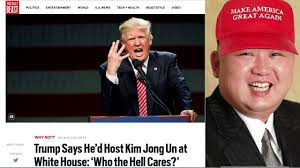 Image result for trump kim jong un endorsement