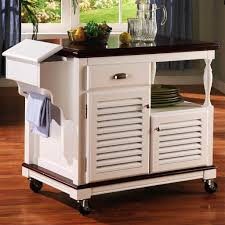 Image Of: Rolling Kitchen Island Drop Leaf
