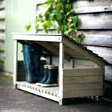 outdoor shoe rack outside shoe storage outdoor boot storage outside shoe