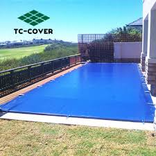super dense solid winter dark blue mesh above ground pool with desk safety blanket cover covers a70 safety