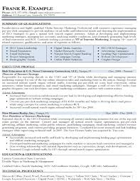 Best Marketing Resume Samples Best of Internet Marketing Executive Resume Dadajius