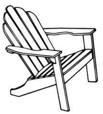 drawing adirondack chair Google Search Tattoos Pinterest