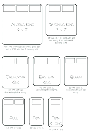 California King Bed Vs Elegant Measurements For Within Queen Idea 4