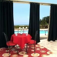 outdoor curtains black white stripe interior exterior doors striped blackout or grommet