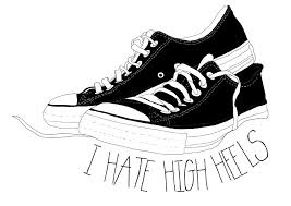 converse shoes black and white clipart. pin converse clipart black and white #12 shoes t