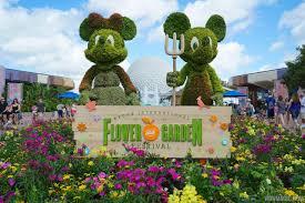epcot international flower garden festival is in bloom