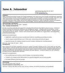 bookkeeper resume sample summary  career life   bookkeeper resume sample summary
