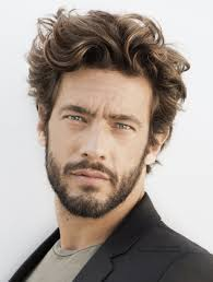 Mens Wavy Hair Style beard styles for men with curly hair mens hairstyles 4307 by wearticles.com