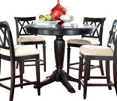 black counter height table set drew dark round in inside dining remodel gathering sets black counter height table set