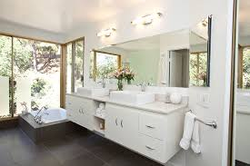 contemporary bathroom lighting fixtures. Contemporary Bathroom Vanity Lighting For Light Fixtures Modern With Corner Bathtub Plans 13 R