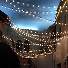 commercial outdoor string lights design