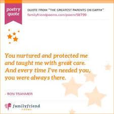 38 Thank You Poems For Parents And Family