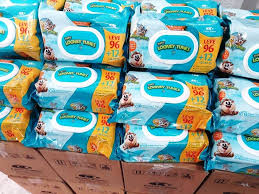 1188 toalhinhas umedecidas baby looney tunes 11 pacotes carregando zoom