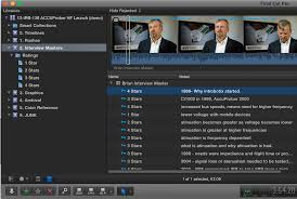 make the most of fcp x log interviews better part frame io blog using keywords lets you rate your favorite segments and they as well as their notes