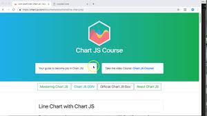 Line Chart With Chart Js Chart Js Course