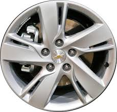 Chevy Cruze Bolt Pattern Magnificent ALY48 Chevrolet Cruze Diesel Wheel Silver Painted 48