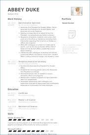 Resume Specialist Impressive Administrative Support Specialist Resume Resumelayout
