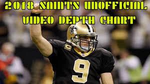 2018 New Orleans Saints Unofficial Video Depth Chart Pt 1