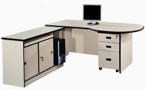 Metal And Wooden L Shape And Round Office Table Warranty 2 Year
