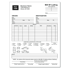 universal bill of lading bill of lading car hauler template newbloc