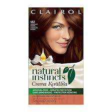 Natural Instincts Creme Color Chart Clairol Natural Instincts Crema Keratina Hair Color Kit 5bz