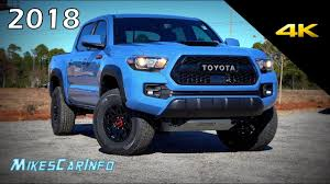 2018 Toyota Tacoma TRD Pro - Ultimate In-Depth Look in 4K - YouTube