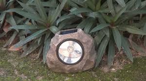 Rock Spot Light Mini 8x Solar Rock Spotlight