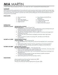 Example Secretary Resume Executive Secretary Resume Moreover There Fascinating Secretary Duties Resume