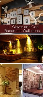 Cool Basement 20 Clever And Cool Basement Wall Ideas Hative
