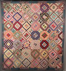 East Tennessee pieced quilt seen at auction. Colorful cottons. 1st ... & East TN Quilt, African American History (center stripe in adjacent 4 blocks) Adamdwight.com