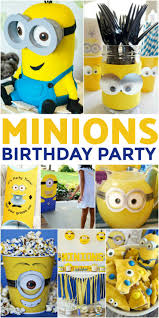 Minion Birthday Party How To Throw The Ultimate Minions Birthday Party Frugal Mom Eh