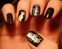 Nail art for new years ~ Beautify themselves with sweet nails