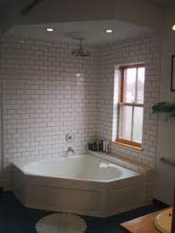 Open shower & tub. Corner Tub Shower ComboCorner ...