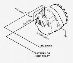 gm 3 wire alternator idiot light hook up hot rod forum Chevy 3 Wire Alternator Diagram at One Wire Alternator Diagram Schematics