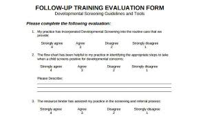 Evaluation Chart Sample Free 25 Sample Training Evaluation Forms In Pdf Word