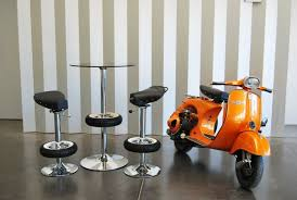 recycled vespa office chairs. recycled vespa office chairs chairorange recycling ideas old motor scooter