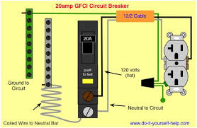 square d 2 pole gfci breaker wiring diagram diagram wiring diagram gfci circuit breaker
